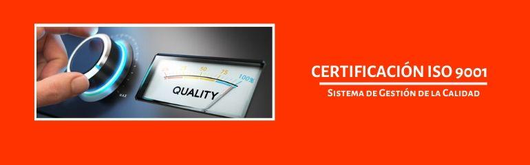 Certificación ISO 9001; Certificación ISO 9001 peru