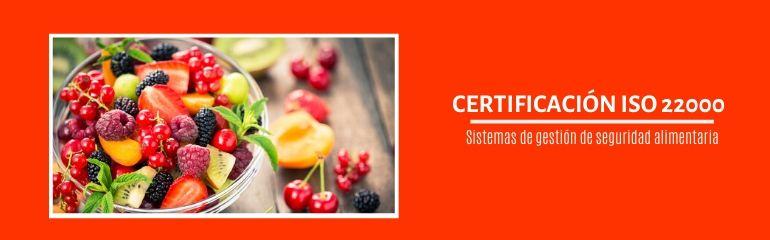 certificación ISO 22000;certificación ISO 22000;